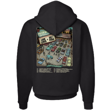Load image into Gallery viewer, The American Drive In Black Pullover Hoodie