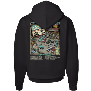 The American Drive In Black Pullover Hoodie