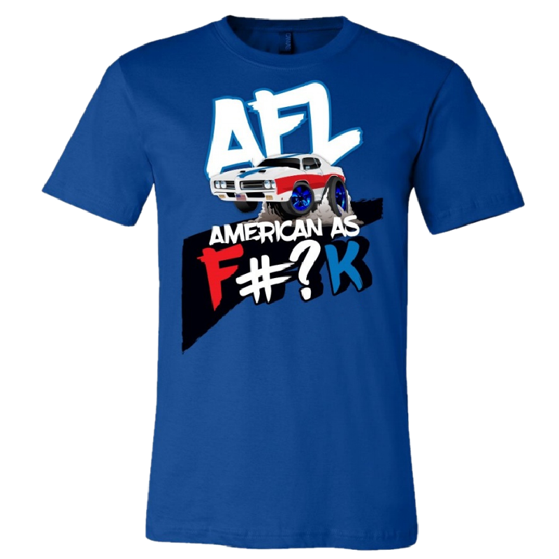 Aaron Lewis American As F#?K Royal Tee