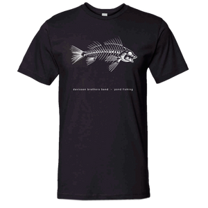 Davisson Brothers Pond Fishing Black Tee