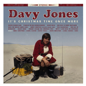 Davy Jones CD- It's Christmas Time Once More