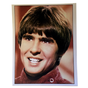 Davy Jones 8x10- Red Shirt