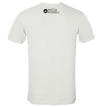 Load image into Gallery viewer, Mitch Rossell White 2020 White Tee