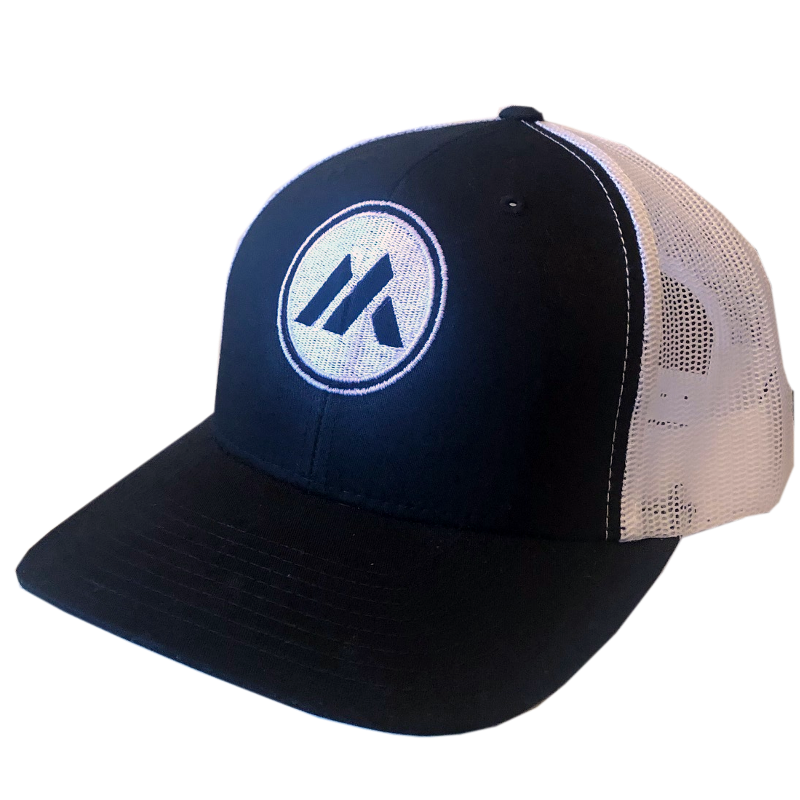 Mitch Rossell Black and White Ballcap