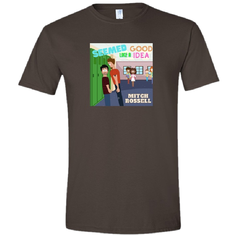 Mitch Rossell Dark Chocolate Good Idea Tee- PRESALE
