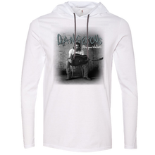 Load image into Gallery viewer, Morgan Wallen Dangerous Long Sleeve Hooded White Tee- PRESALE