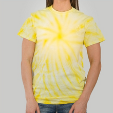 Load image into Gallery viewer, Niko Moon No Sad Songs Yellow Tie Dyed Tee