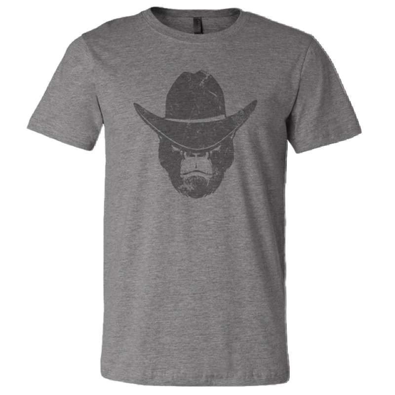 Scott Stevens Deep Heather Distressed Gorilla Tee