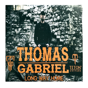 Thomas Gabriel SIGNED Cd- Long Way Home