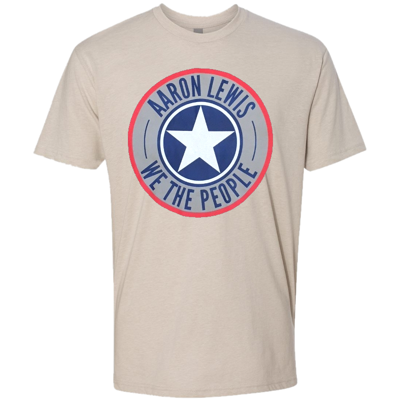 Aaron Lewis Heather Sand Shield Tee