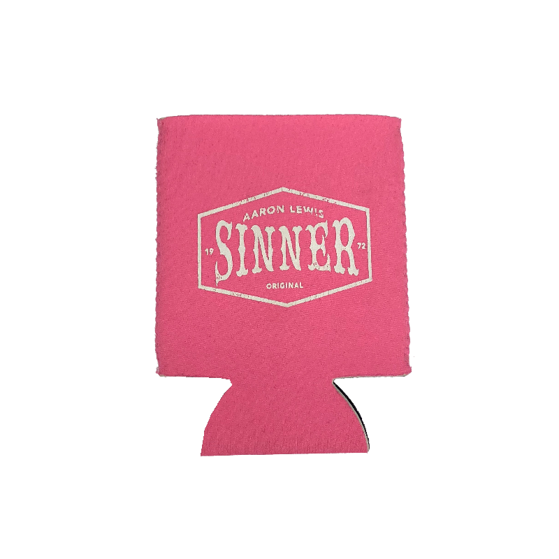 Aaron Lewis Hot Pink Sinner Can Coolie