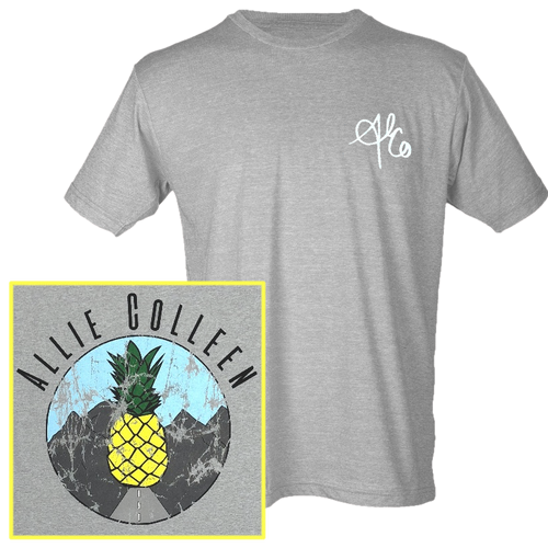 Allie Colleen Heather Grey tee