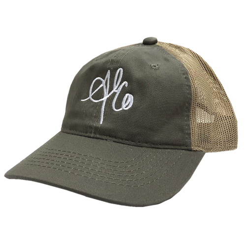 Allie Colleen Olive and Khaki Ballcap