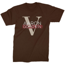 Load image into Gallery viewer, Aaron Goodvin Unisex Brown Crew Neck Tee