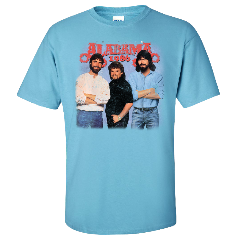Alabama 1986 Sky Blue Tee