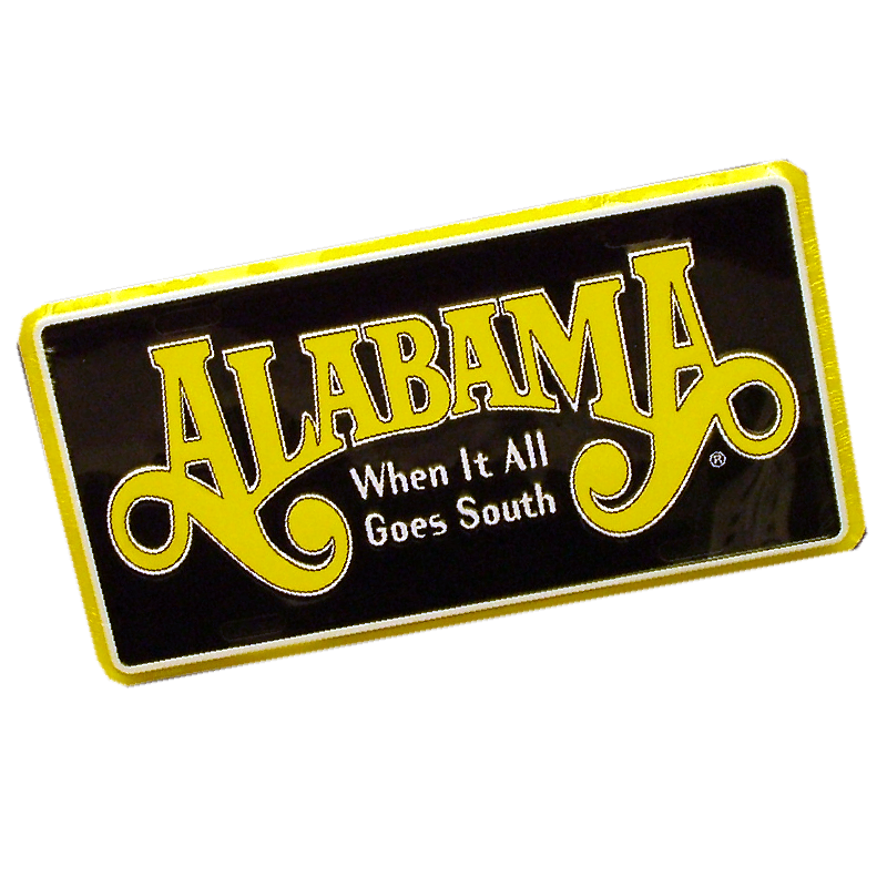 Alabama When It All goes South License Plate