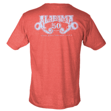 Load image into Gallery viewer, Alabama Vintage Red 50th Anniversary Tee