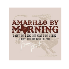 Load image into Gallery viewer, George Strait Unisex Amarillo By Morning Tee