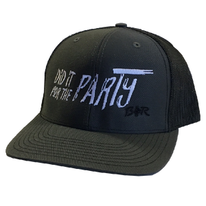 Big and Rich Charcoal and Black Ballcap
