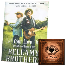 Load image into Gallery viewer, Bellamy Brothers AUTOGRAPHED Book and CD Bundle