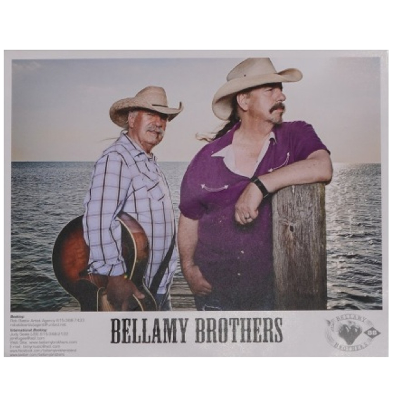 Bellamy Brother Color 8x10 Photo