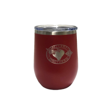 Load image into Gallery viewer, Bellamy Brothers 16 oz. Stainless Steel Insulated Stemless Wine Tumbler With Lid