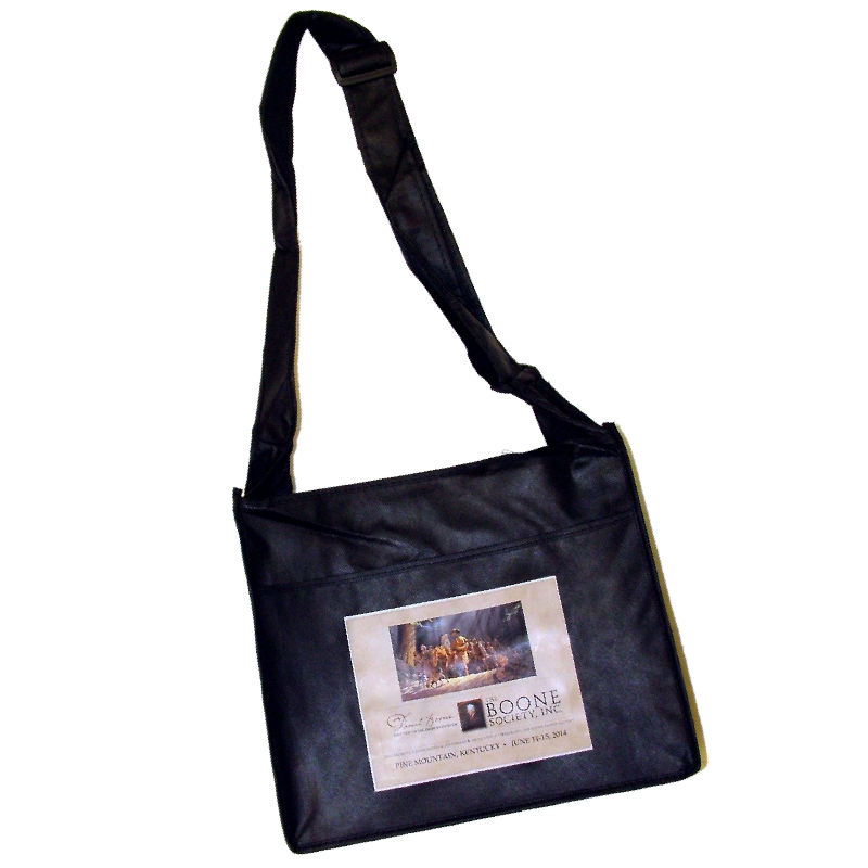The Boone Society Reusable Black Tote Bag