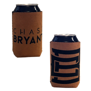 Chase Bryant Brown Suede Can Coolie