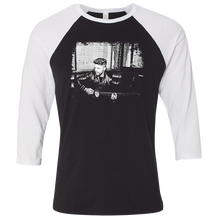 Load image into Gallery viewer, Chris Lane Black and White Raglan Tee