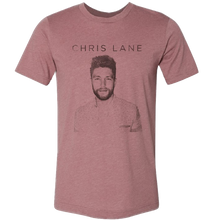 Load image into Gallery viewer, Chris Lane Heather Mauve Tour Tee