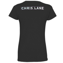 Load image into Gallery viewer, Chris Lane Ladies Black Tee- What's Your Name?