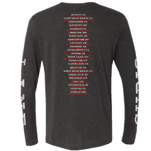 Load image into Gallery viewer, Chris Lane Long Sleeve Heather Charcoal Photo Tee