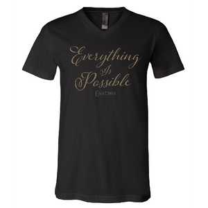 ENATION Everything Is Possible V Neck Tee- (Assorted Colors)