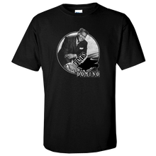 Load image into Gallery viewer, Fats Domino Black Photo Tee