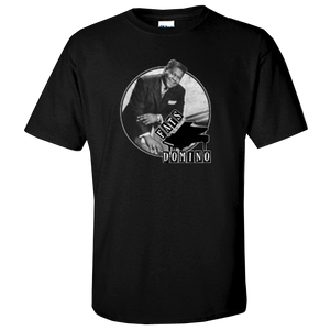 Fats Domino Black Photo Tee
