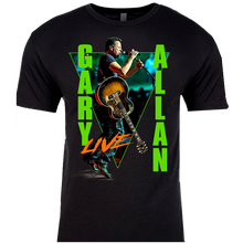 Load image into Gallery viewer, Gary Allan 2020 Black Live Tour Tee