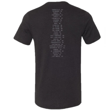 Load image into Gallery viewer, Gary Allan Black Heather Logo Tee