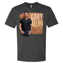 Load image into Gallery viewer, Gary Allan 2019 Charcoal Photo Tee