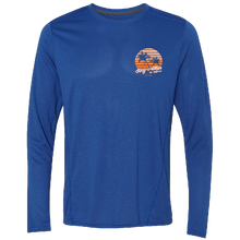 Load image into Gallery viewer, Gary Allan Long Sleeve Royal Performance Tee