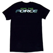 Load image into Gallery viewer, Global Force Wrestling Black Tee- Front Left Chest Logo