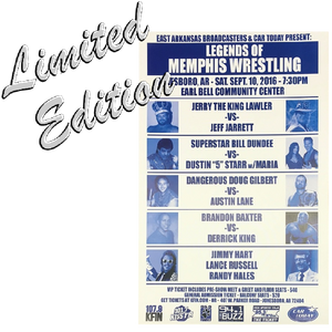 Legends of Memphis Wrestling Poster