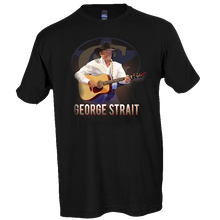 Load image into Gallery viewer, George Strait Black Live in Concert Tee- Las Vegas