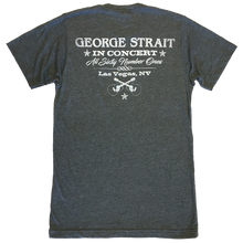 Load image into Gallery viewer, George Strait Heather Charcoal Belt Buckle Tee
