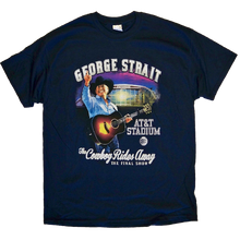 Load image into Gallery viewer, George Strait 2014 Navy AT&T Stadium Tee