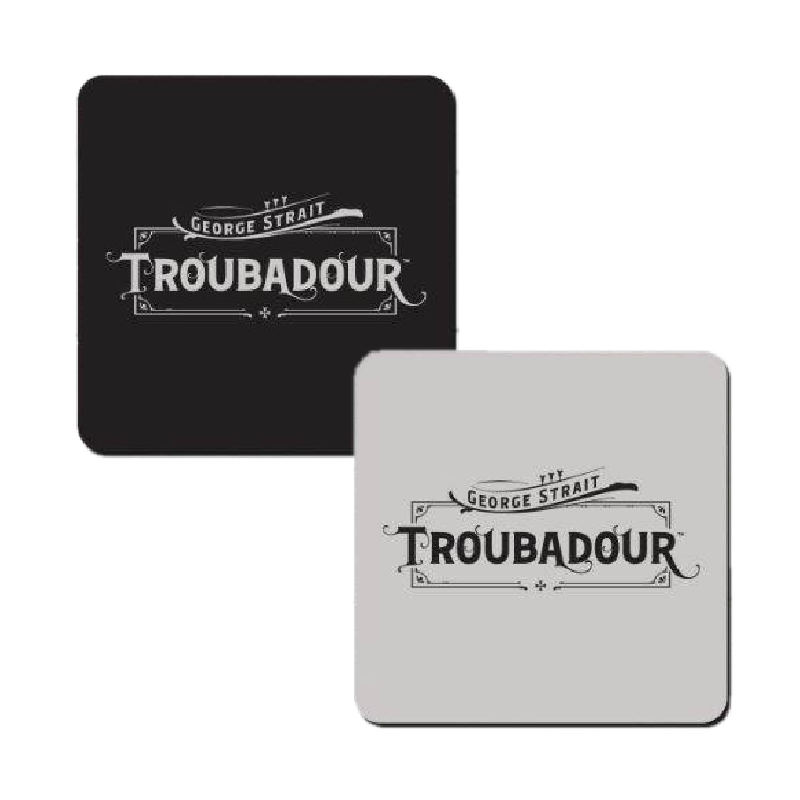 George Strait Troubadour Coaster