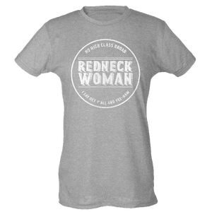 Gretchen Wilson Ladies Heather Grey Tee