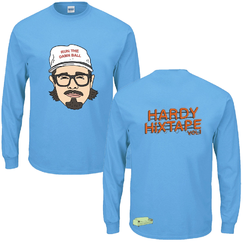 HARDY Long Sleeve Blue Hixtape Tee
