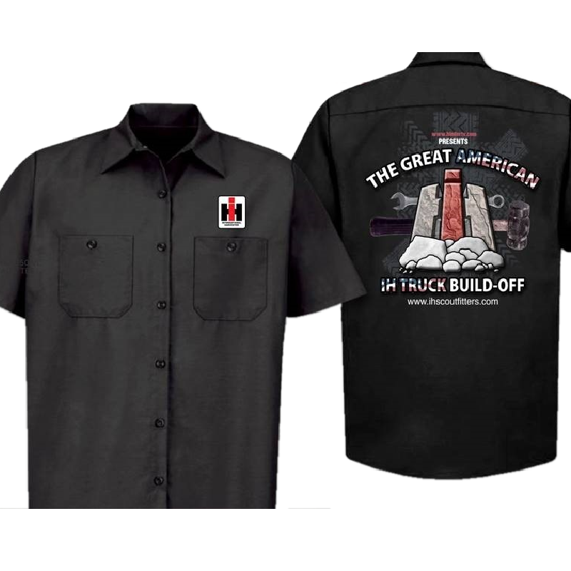 Great American Build-Off Black Work Shirt