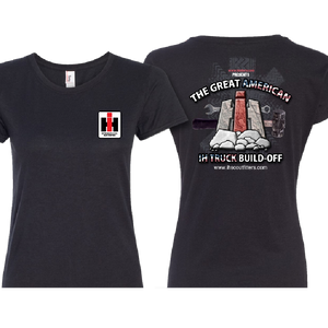 Ladies Great American Build-Off Black Tee