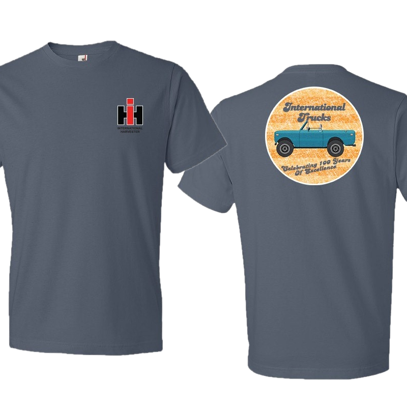International Harvester Unisex Lake Blue Tee